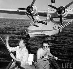 """They don't call it the 'Golden Age of Travel' for nothing. If you thought you were having early symptoms of the pre-summer travel bug, this will surely finish you off. Found deep within LIFE magazine's archives, introducing """"the flying yacht"""" You still will need to get ashore in a dinghy from your luxurious PBY."""