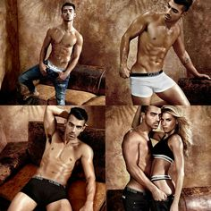 Wow🙌🔥What a breathtaking campaign!! #JoeJonas teamed up with model #CharlotteMcKinney for the #GUESS' 2017 underwear line!!! • • • • •  Wow🙌🔥 Que campanha de tirar o fôlego!!!! #JoeJonas se juntou com a modelo #CharlotteMcKinney para a linha de underwear 2017 da #GUESS!!!