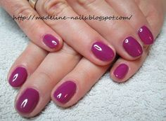 Madeline nails: Semilac - 012 Pink Cherry
