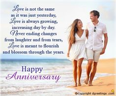 Happy Wedding Anniversary Wishes for Son and Daughter in Law Images - Happy Birthday Anniversary Wed Marriage Anniversary Quotes, Anniversary Wishes For Husband, Happy Wedding Anniversary Wishes, Birthday Wishes For Daughter, Happy Birthday, Anniversary Funny, Wedding Wishes, Anniversary Cards, Facebook Birthday