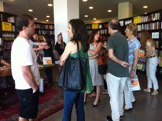 Lançamento na Livraria da Vila - Shopping JK