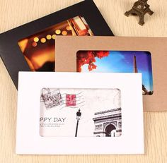 Photography Packaging Box 10pcs Photo Frame Kraft by Heasundries
