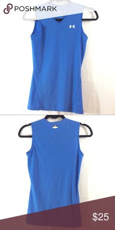NWOT Under Armour Heat Gear sleeveless top NWOT. Made of 18% elastane. Like multiple items I have available? When you bundle 3 items from my closet in the same transaction, you get a discount and only pay shipping ONCE!! When you bundle 4+, you get that PLUS a FREE GIFT! *Free gift increases in value with each additional item bundled* Under Armour Tops