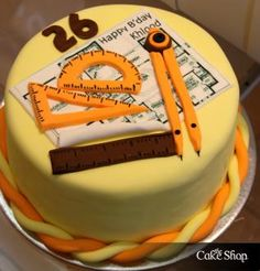 The Cake Shop : Engineers 3d Cakes, Fondant Cakes, Cupcake Cakes, Engineering Cake, Architecture Cake, Cake For Husband, Cakes For Men, Small Cake, Cake Shop