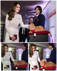 The Duchess Of Cambridge Attends UK Premiere Of 'A Street Cat Named Bob' In Aid Of Action On Addiction