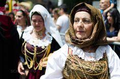 Parade of traditional Sardinian costumes -cav-0636-