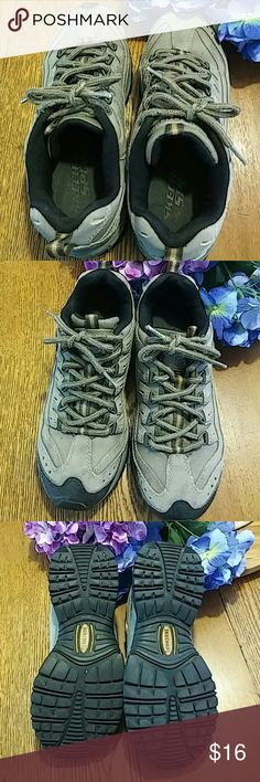 Skechers Sport Trail Athletic Shoe Preowned good shape. Could use new shoelaces. Skechers Shoes Athletic Shoes