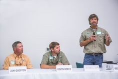 MHG's COO, Michael Smith addresses questions regarding canola during the panel discussion.