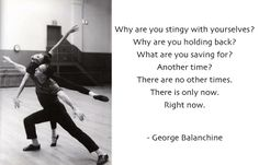 Balanchine Quote