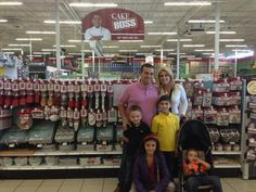 Buddy and the whole famiglia I love the cake boss isles in my local stores but they are not that big