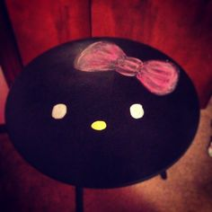I bought this table for $2.00...then painted hello kitty. My daughter loves it and it didn't cost a lot