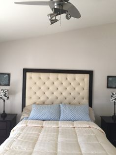 Created affordable custom headboard  on etsy by Expressions De Vous. For those busy mothers who don't have the time for diy!