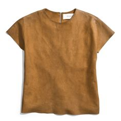 The The Suede Tee from Coach