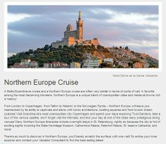 Clients who've enjoyed Scandanavia cruises rave about the fresh seafood and beautiful villages of Norway,Denmark and Sweden. Click photo to see Destinations and Cruises.