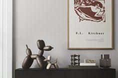 Ballon dog stor og lille Danish Design, Bookends, Instagram, Home Decor, Lily, Pet Dogs, Decoration Home, Room Decor, Home Interior Design