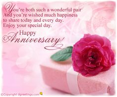 Dgreetings - Convey your anniversary wishes to your spouse with this special card.