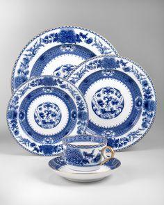 Mottahedeh Imperial Blue Dinnerware