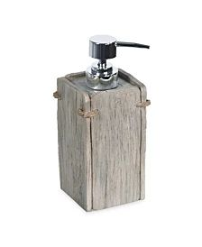 Destinations Driftwood 2 Waste Basket & Reviews - Bathroom Accessories - Bed & Bath - Macy's Wine Dispenser, Kitchen Soap Dispenser, Soap Dispensers, Lotion, Seaside Decor, Soap Pump, Bedding Shop, Rustic Charm, Bars For Home