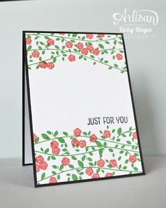Floral Wings note card set - Stampin' Up artisan blog hop