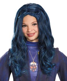 Another great find on #zulily! Disney Descendants Evie Wig - Kids #zulilyfinds