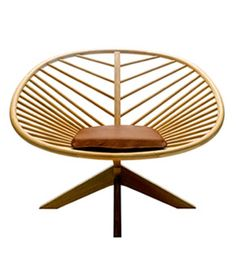 """Superstructure chair by Bjorn Dahlstrom is a masterpiece of modern Scandinavian design. It carries on the design heritage set by such masters as Hans J. Wegner et al. Superstructure chair will be a centerpiece of every space it"