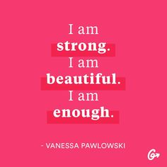 Give yourself some props! These (non-cheesy) quotes will help you start your day off right.  #motivation #bodypositive https://greatist.com/grow/body-positive-mantras