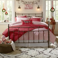 idea: wrap christmas lights around our bed frame, use as night