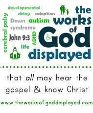 the works of God displayed: My 8 Favorite Bible Verses for Special Needs Ministry (& The One I Usually Don't Use)