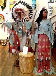 Ghost Dance dress by Mike McLeod - Lakota/Chippewa
