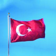 Soccer Nation Flag TURKEY (3ft x 5ft, 150x90cm)
