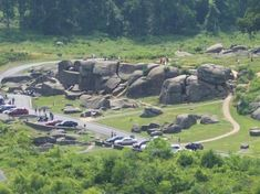 Gettysburg Pennsylvania Picture: Devils Den From Little Round Top Gettysburg - Check out TripAdvisor members' 8096 candid photos and videos of Gettysburg American Revolutionary War, American Civil War, American History, Scary Ghost Pictures, Ghost Photos, Gettysburg Ghosts, Places To Travel, Places To Visit, Pennsylvania Dutch Country