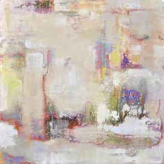 Anne B. Schwartz - Monte Solarno 172 mixed media on canvas. Mainly white abstract with bits of colors peeking through. Lots of texture. Suitable for home and corporate use. Anne B Schwartz / Los Angeles / contemporary abstract expressionist. Browse more art at annebschwartz.com     Abstract Art   Abstract Art Paintings   Modern Art   Modern Contemporary   Art Drawings   Art Paintings   Oil Canvas  