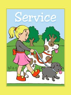 Service – LDS Coloring Book