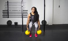 Find how and why you need to start doing thrusters! Click here to read the blog. #fitgirlcode #thrusters #totalbody #workout #exercises