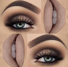 Eye Makeup Tips.Smokey Eye Makeup Tips - For a Catchy and Impressive Look Makeup Goals, Makeup Inspo, Makeup Inspiration, Makeup Tips, Beauty Makeup, Makeup Ideas, Makeup Style, Makeup Trends, Rock Makeup