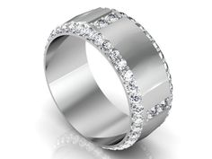 Mens Diamond Rings.  Custom Mens Diamond Rings in Dallas by Motek Diamonds in Dallas