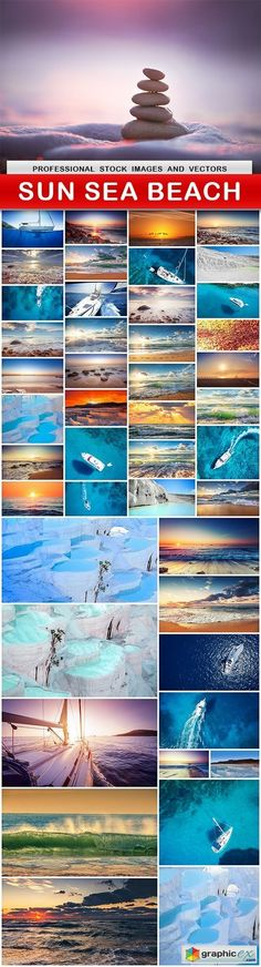 SUN SEA BEACH  46 UHQ JPEG  stock images