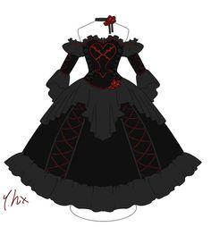 kingdom hearts heartless | Shadow Heartless Kingdom Hearts Heartless ballgown by pure-