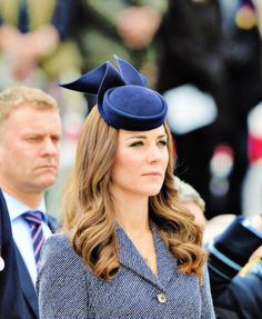 The Duchess of Cambridge at a service of remembrance in Canberra to honour Australia and New Zealand's war dead on Anzac Day.
