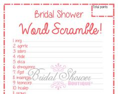 1950's How to Be a Good WIfe Bridal Shower by BridalShowerBoutique