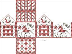Рукодельные Равлики: Волшебный вышитый домик | Мастер-классы по рукоделию
