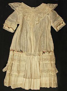 Girls' Dress 1908-1910 The Metropolitan Museum of Art
