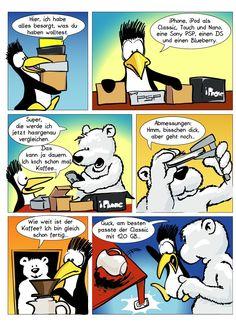 Spaß mit dem Arktisbären ;-)