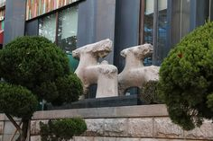 Sculpture in Gangnam Korea