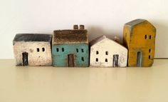 ceramic miniatures// vesna gusman// looks like holli would like her work