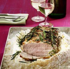 Salzschwein Kräuter-Variante zum beliebten Salzbraten