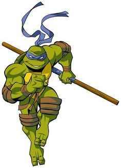 Donnie from the 2003 TMNT cartoon series