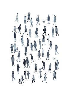 Drawing People People (About Today - Illustration by Lizzy Stewart) - Pictures of people Architecture People, Architecture Graphics, Architecture Drawings, Museum Architecture, Architecture Collage, Lizzy Stewart, Render People, People Png, People Cutout
