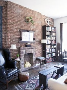 Designer Tips for Small Urban Living- select narrow, multipurpose pieces #urban #urbanliving