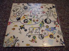 Led Zeppelin III 3 Wheel Die Cut Cover Vinyl by VinylRecordBarn, $27.99